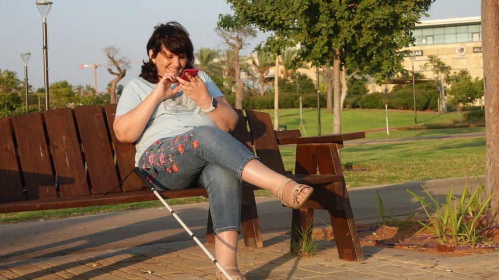 בתמונה: קרינה מנהלת הקהילה שלנו בפארק הרצליה
