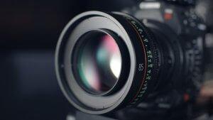 תמונה של עדשת מצלמה