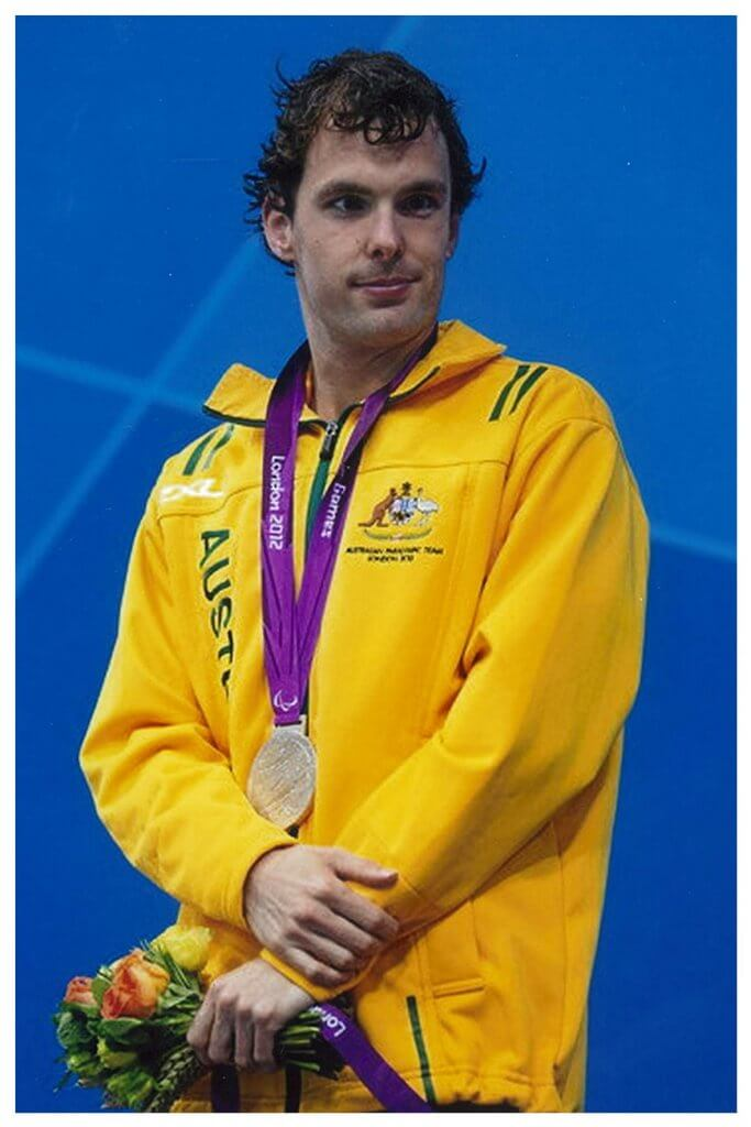 Matt with the Gold Medal
