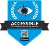 RightHear Accessibility Badge